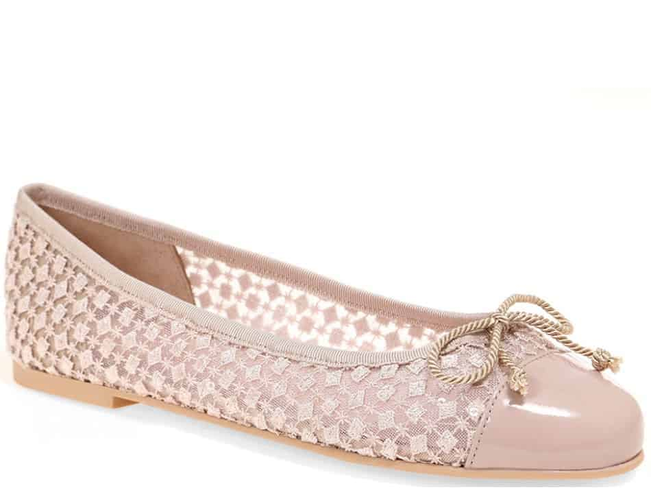 Rose Sweet|ורוד|נעלי בובה|נעלי בלרינה|נעליים שטוחות|נעליים נוחות|ballerinas