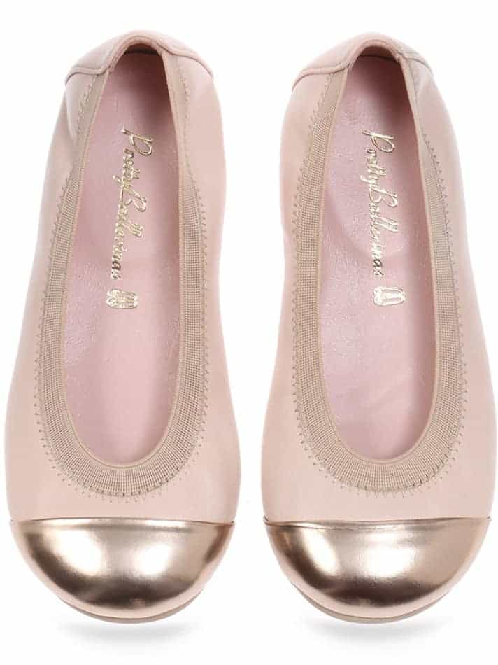 Gold Princess|זהב|ילדות| בלרינה|נעלי בלרינה לילדות|נעלי בלרינה